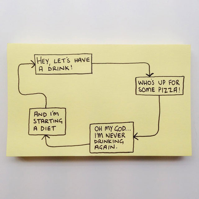 sticky life illustrations about adult life by chaz hutton (1)