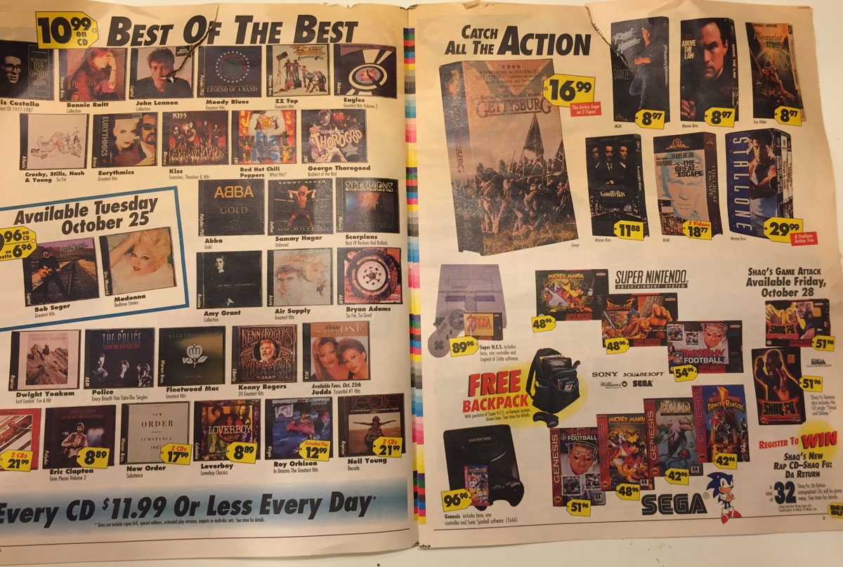 This Best Buy Flyer from 1994 Shows How Fast Technology Has Changed (2)
