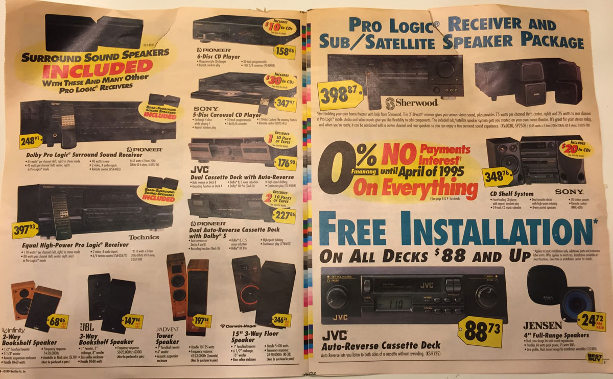 This Best Buy Flyer from 1994 Shows How Fast Technology Has Changed (3)