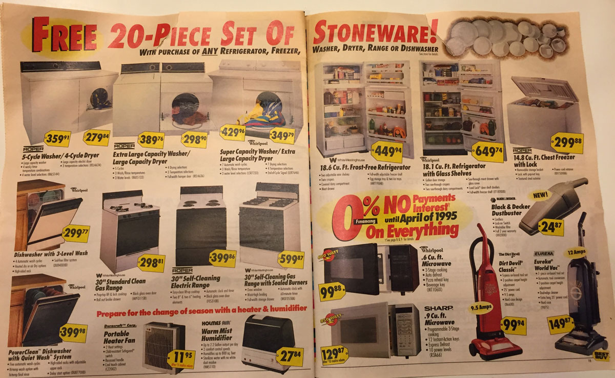 This Best Buy Flyer from 1994 Shows How Fast Technology Has Changed (8)