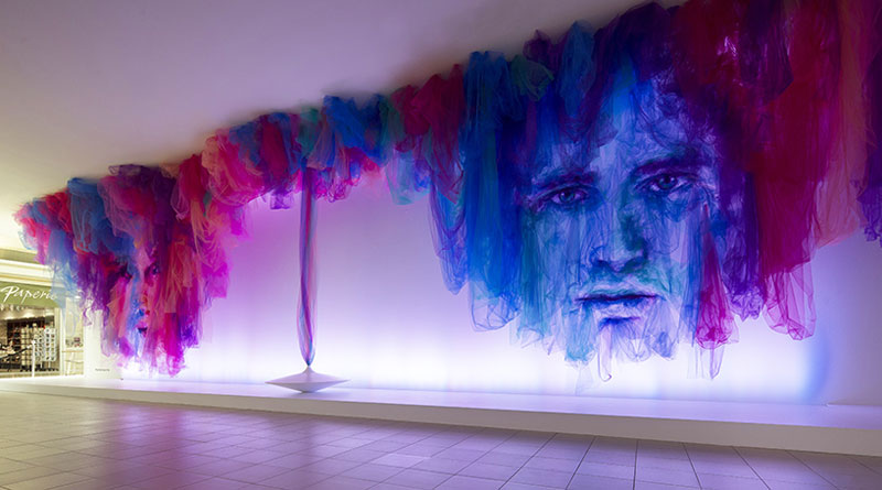 Tulle Installation 'The Dance' by Benjamin Shine (2)