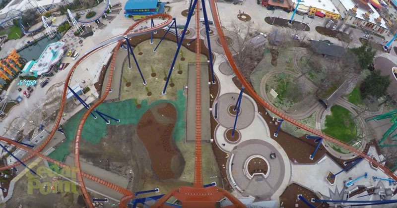 Just a First Person POV of a 90 Degree, 20 Story Drop at 75 MPH