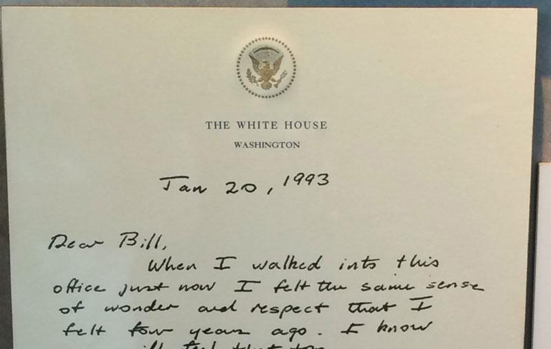 Before He Left Office Bush Sr Left This Letter for Bill Clinton