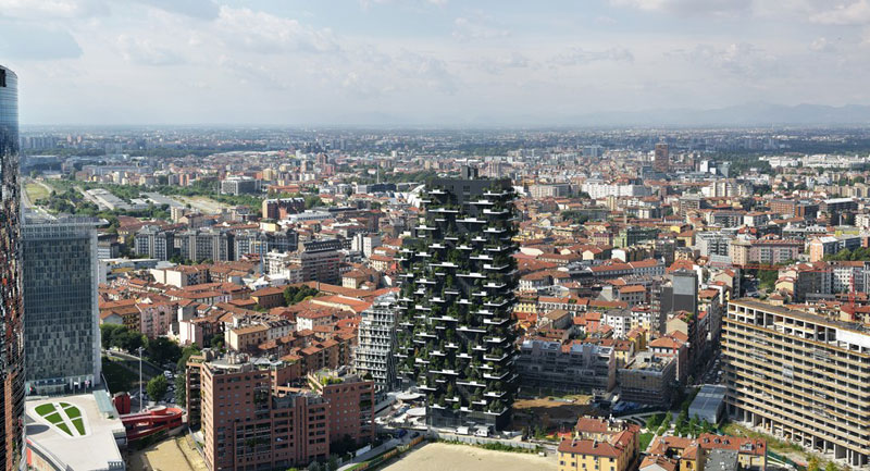 Bosco Verticale vertical forest residential towers by boeri studio milan italy (1)