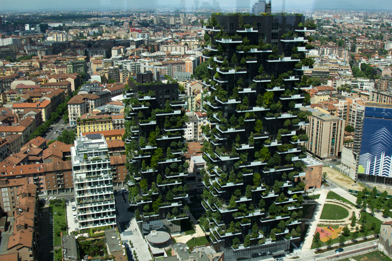 The Incredible Vertical Forest Residential Towers in Milan, Italy