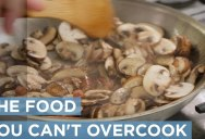 A Food Scientist Demonstrates How You Literally Can't Overcook Mushrooms