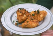 Guy Makes Fried Chicken With a Recipe From 1736