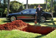 Millionaire Sparks Uproar With Demand to Be Buried With Bentley