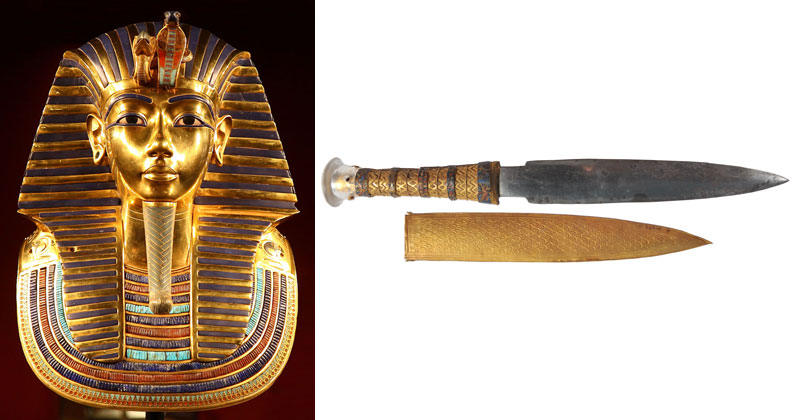Scientists Confirm King Tut's 3300-year-Old Dagger Forged from Meteorite