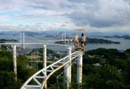 Japan's Pedal Powered Roller Coaster Lets You Soak in Your Surroundings