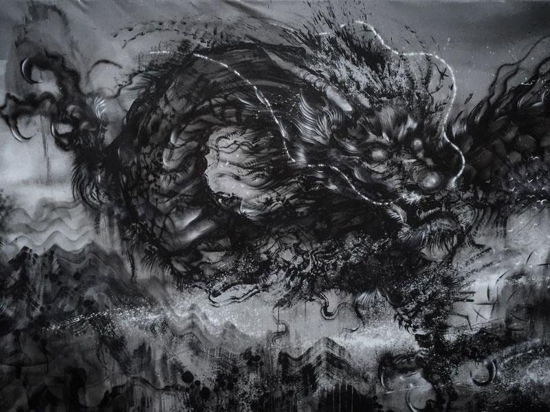 splattered ink animal paintings by chen yingjie aka hua tunan (13)
