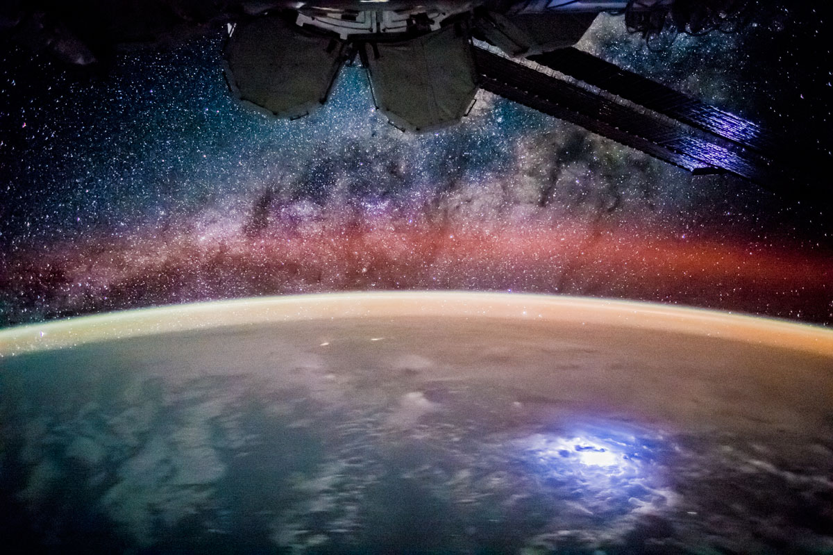 stargazing from the iss nasa Picture of the Day: Stargazing from the International Space Station