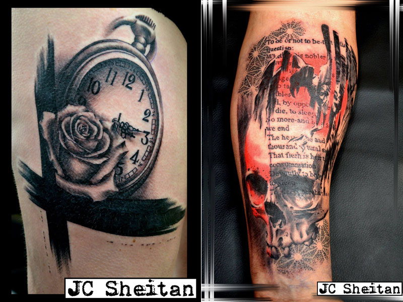 Tattoo Artist Turns Prosthetic Arm Into Badass Tattoo Machine (9)
