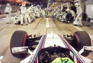 This is What a 2.27 Second F1 Pit Stop Looks Like