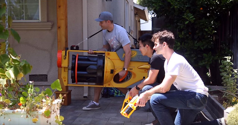 These Guys Just Built the World's Largest Nerf Gun