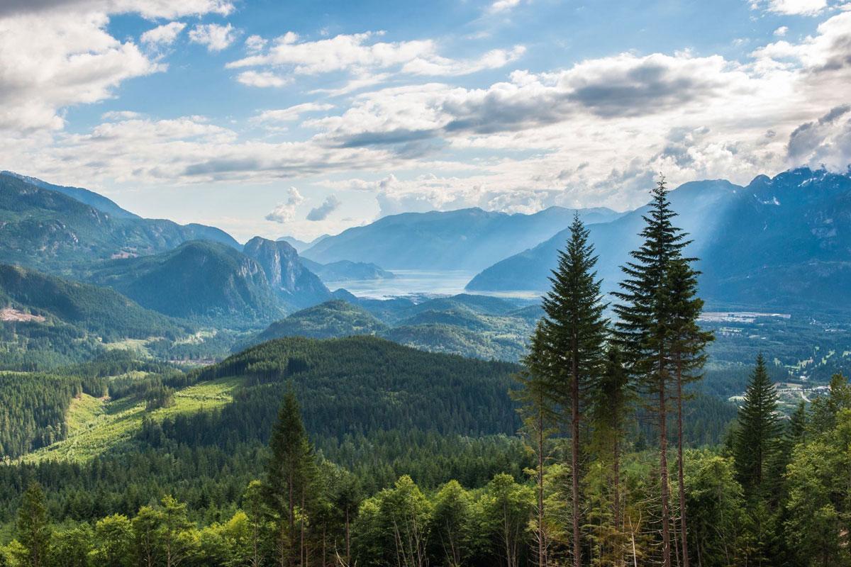 beautiful british columbia from squamish Picture of the Day: Beautiful British Columbia