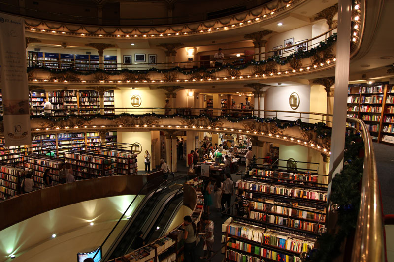 el ateneo grand splendid Buenos Aires Bookstore Inside 100-Year-Old Theatre (12)
