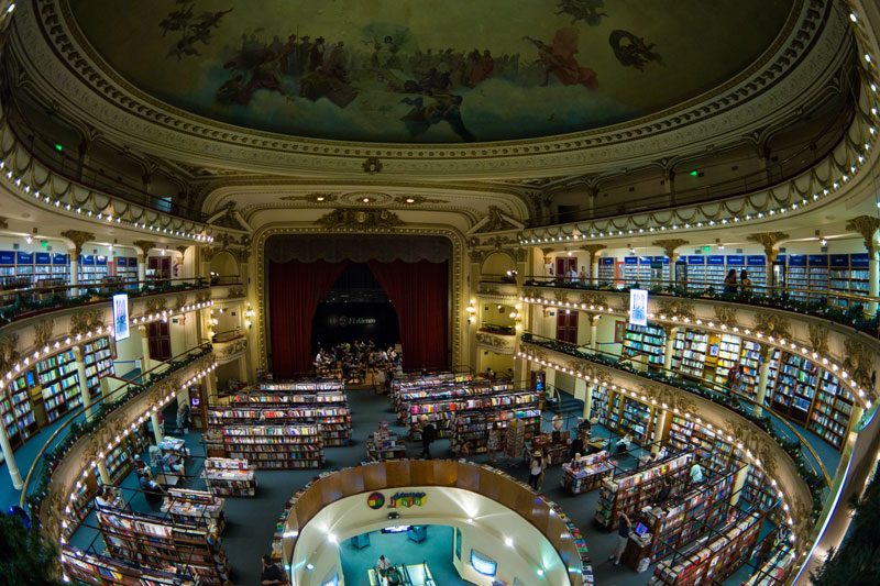 el ateneo grand splendid Buenos Aires Bookstore Inside 100-Year-Old Theatre (15)