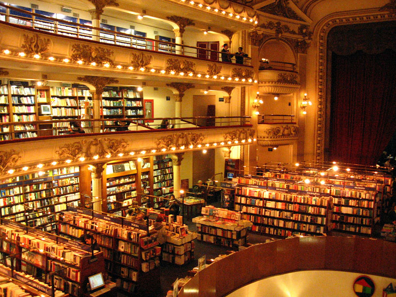 el ateneo grand splendid Buenos Aires Bookstore Inside 100-Year-Old Theatre (2)