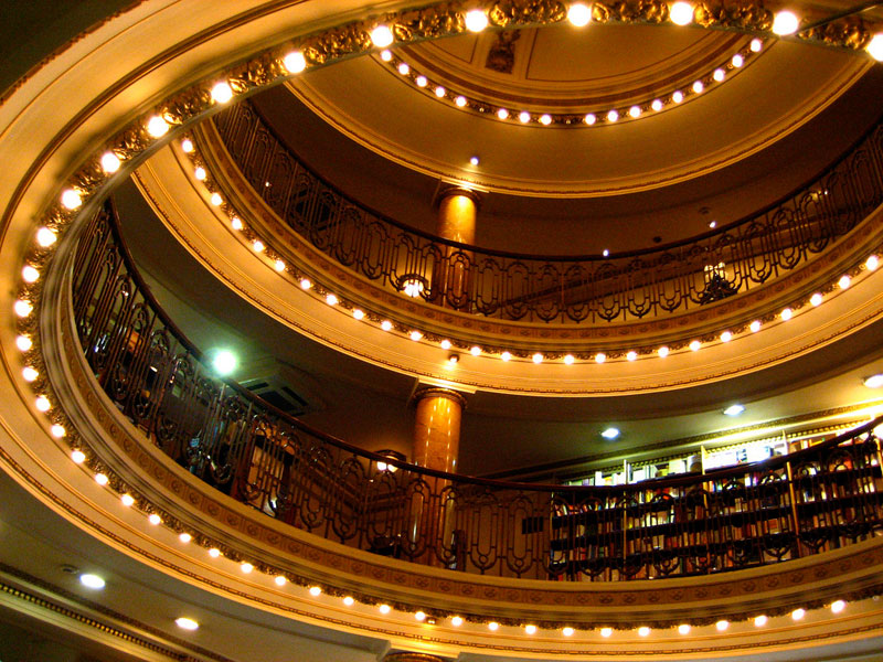 el ateneo grand splendid Buenos Aires Bookstore Inside 100-Year-Old Theatre (7)