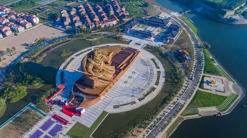 god of war guan yu statue jingzhou china (4)