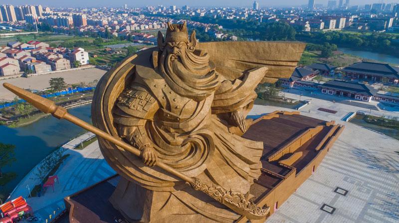 god of war guan yu statue jingzhou china (5)