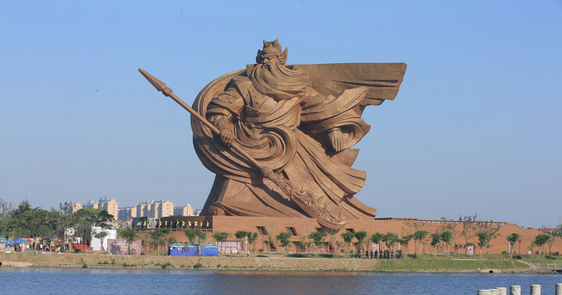 China Unveils Incredible Statue of Deified General, Guan Yu