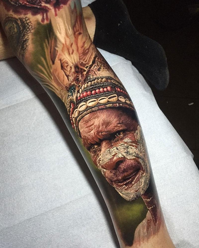 Hyperrealistic Tattoos by Steve Butcher Look Like Photos Printed on Skin (6)