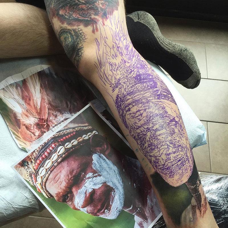 Hyperrealistic Tattoos by Steve Butcher Look Like Photos Printed on Skin (7)