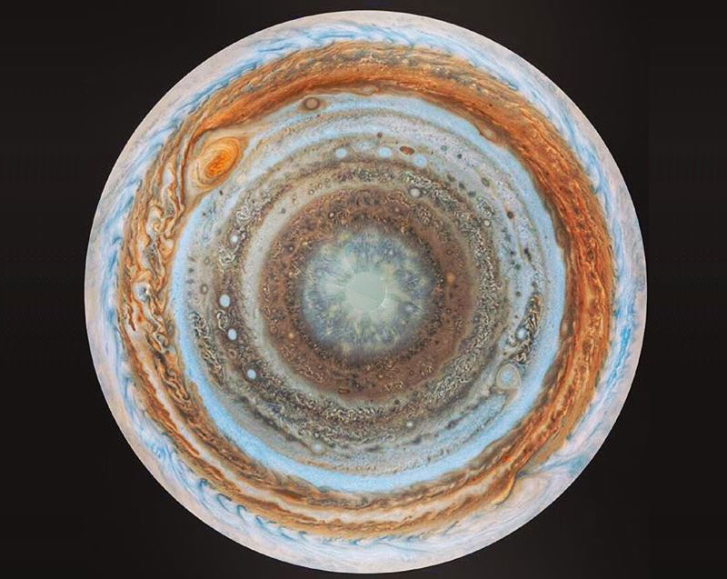 Picture of the Day: Jupiter From 'Below'