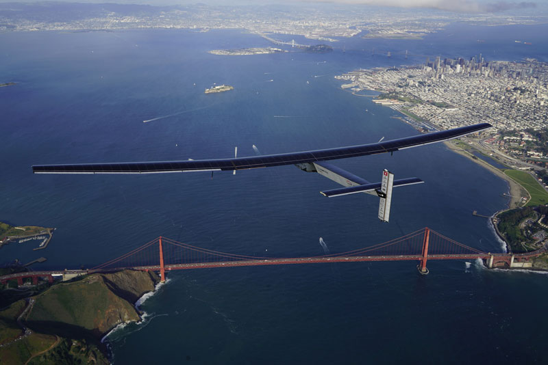 solar impulse Plane circumnavigates globe Without single Drop of Fuel (12)