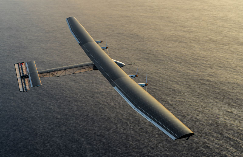 This Plane Just Circumnavigated the Globe Without a Single Drop of Fuel
