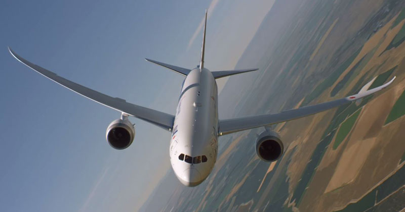 Just Taking a Boeing 787 Dreamliner for a Joy Ride