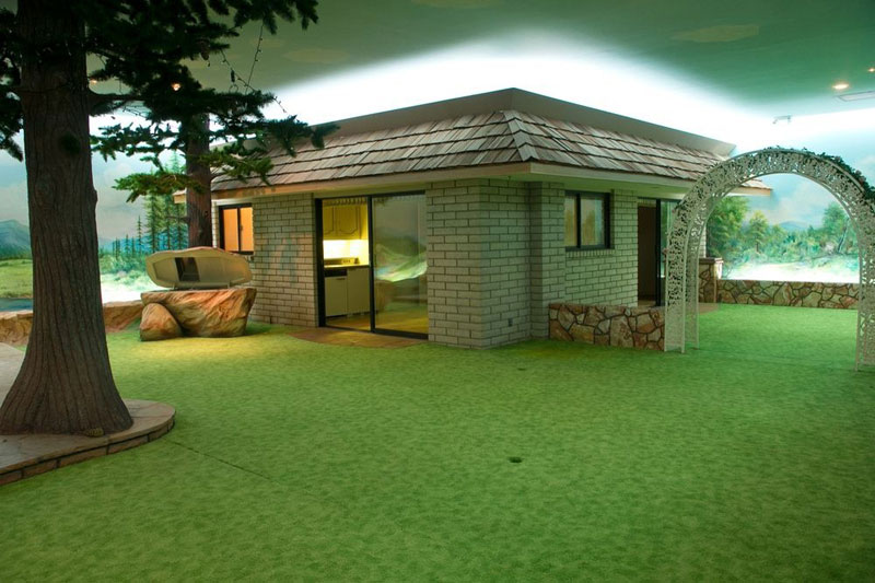 The 5000 Sq Ft Cold War Bunker Underneath a Modest, Suburban House in Las Vegas