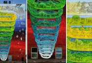 7-Story Mural in Rome Looks Like It's Spiralling Outwards