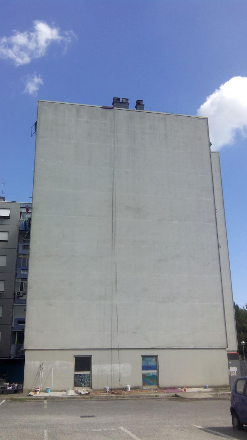 7 story mural by blu rome italy casa dei pazzi spiral (9)