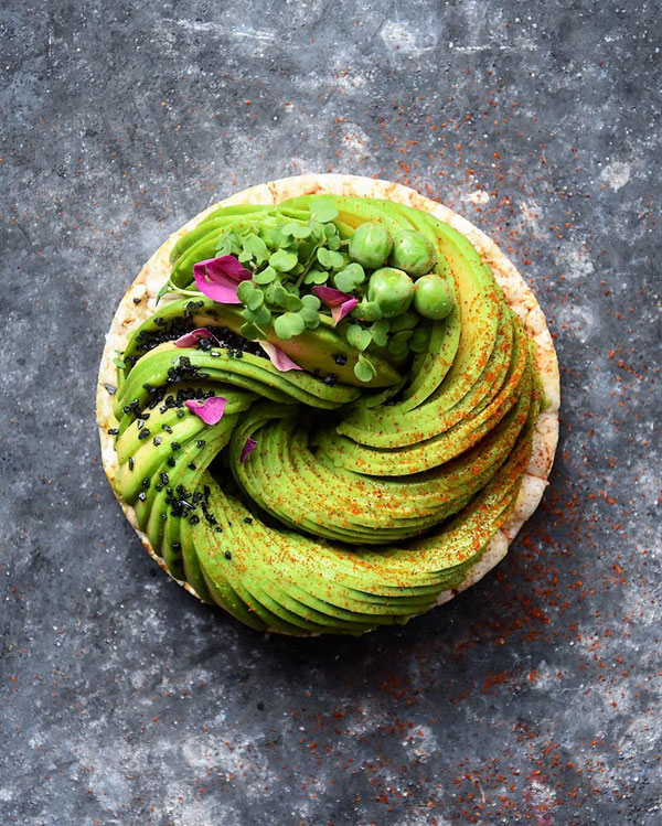 avocado food art by colette dike food deco (6)