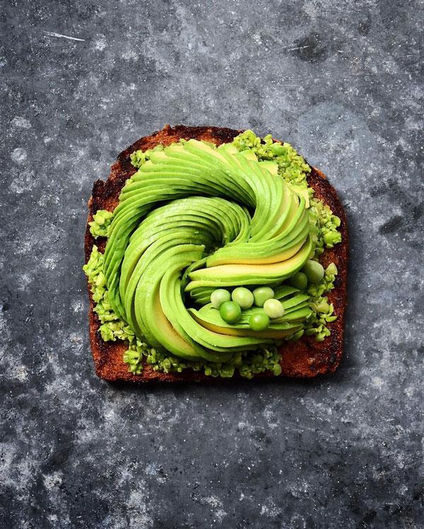 avocado food art by colette dike food deco (8)