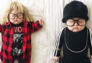 This Baby Dresses Better Than I do… In Her Sleep! (15 Photos)