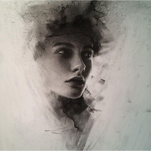 Charcoal Drawings by Casey Baugh (10)