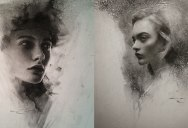 Stunning Charcoal Drawings on Paper by Casey Baugh