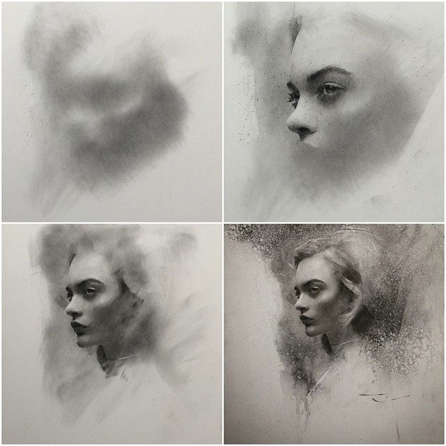 Charcoal Drawings by Casey Baugh (8)