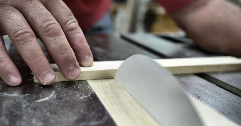 Cutting Wood with a Paper Table Saw Blade