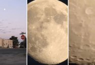 Digital Camera Zooms In On the Moon