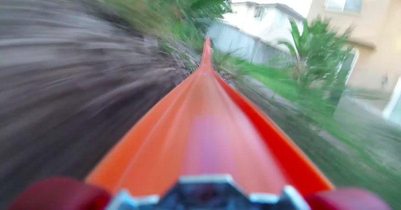 GoPro Hot Wheels Car Goes on Epic Joyride