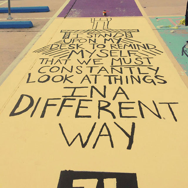 High Schools Let Their Seniors Paint Their Parking Spots (4)