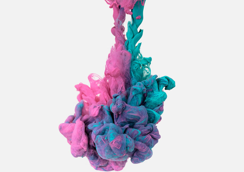 high-speed photos of ink dropped into water by alberto seveso (10)