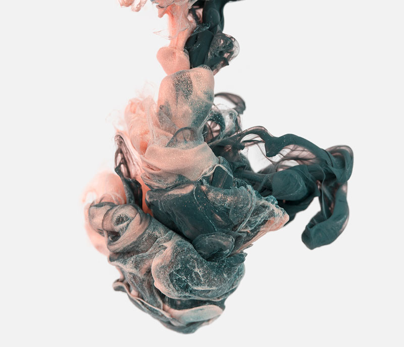 high-speed photos of ink dropped into water by alberto seveso (9)