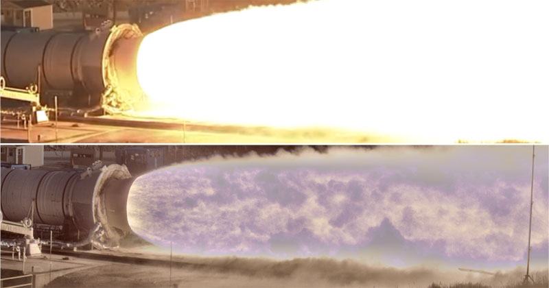 NASA Debuts New High-Speed, HDR Camera for Observing Rocket Propulsion