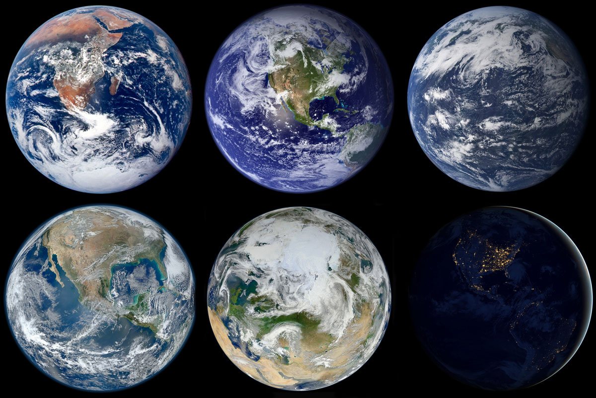 nasa earth marbles poster Picture of the Day: NASA Earth Marbles